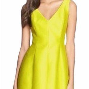 Kate Spade New York Jolt Party Dress Citron Size 0